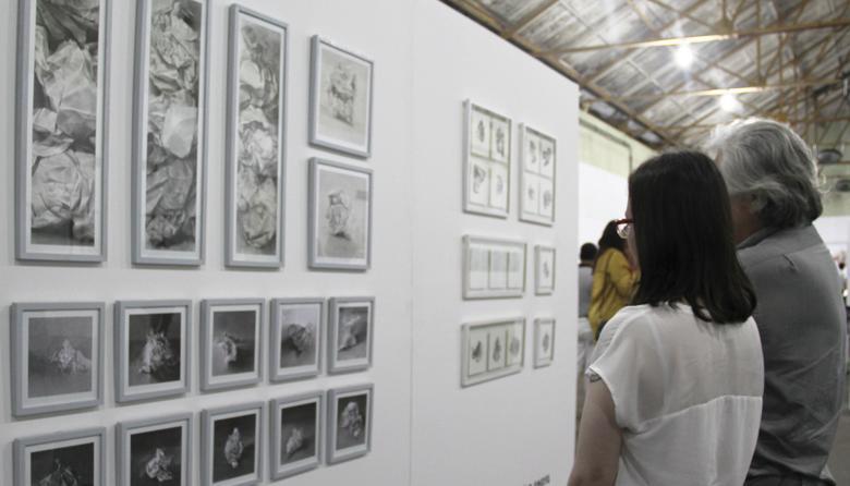 Noche para democratizar el arte en la Feria del Millón