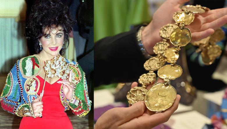Rematarán atuendos y objetos de la leyenda de Hollywood Elizabeth Taylor