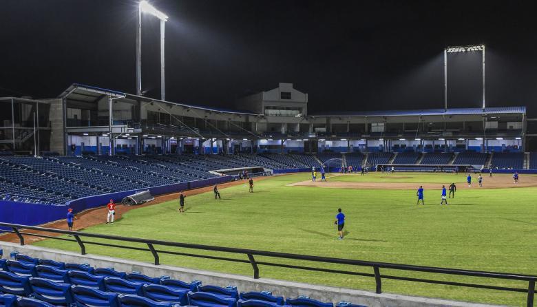 Se abre la temporada de béisbol colombiano