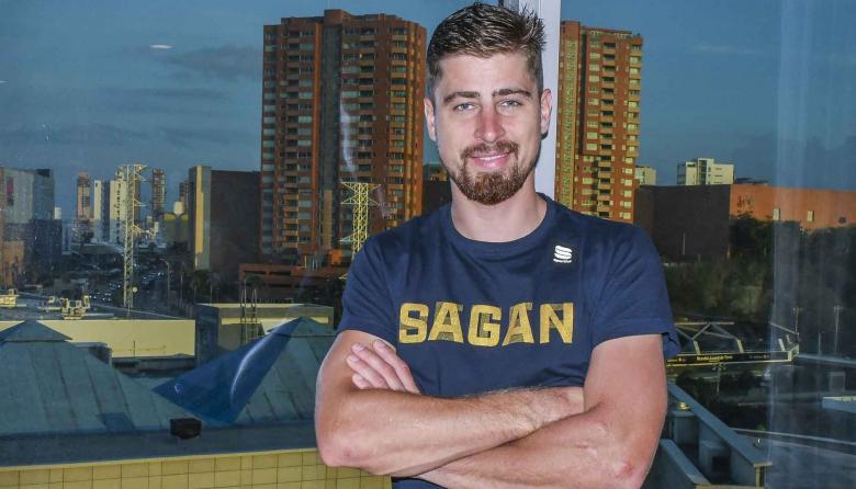 """""""Disfruto estar en Barranquilla, la gente es muy amigable"""": Peter Sagan, campeón mundial de ciclismo"""