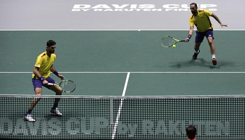 Colombia salva el honor ganando el doble de la Copa Davis