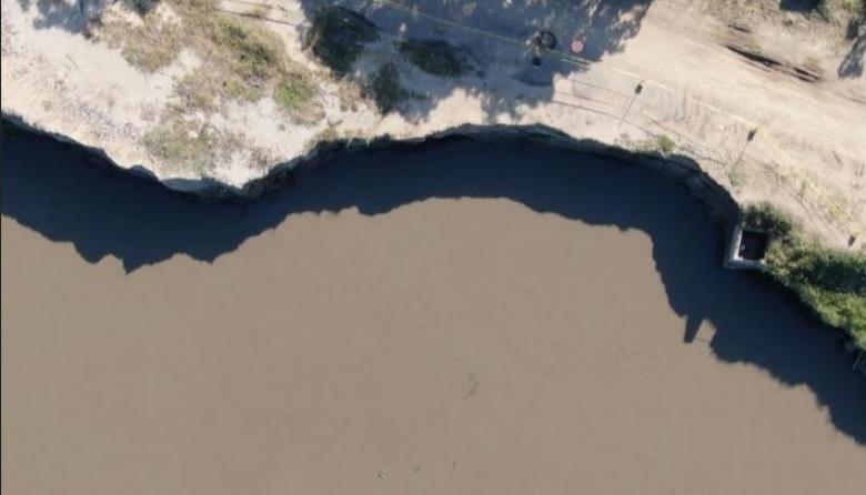 Vista aérea del estado del kilómetro 2,4.