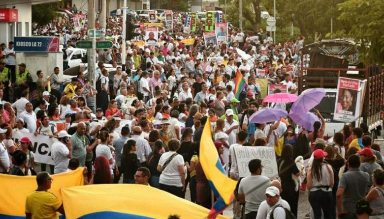 Dos marchas se realizarán en Barranquilla en el 4D
