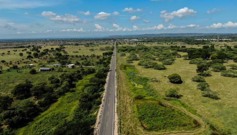 Entregan nuevo tramo de 5,4 kilómetros de la Transversal del Sur