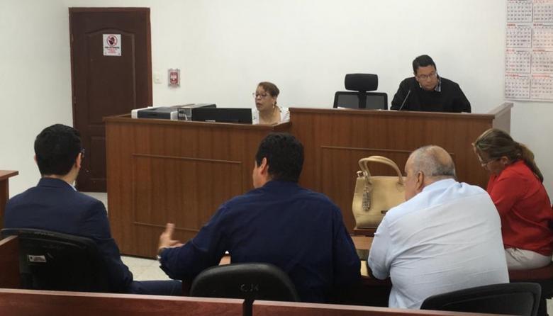 Empieza audiencia preparatoria contra Gerlein y otros siete procesados