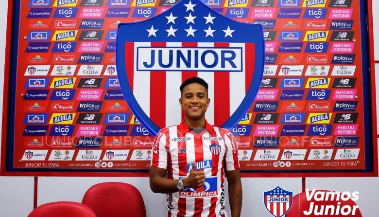 Cristian Higuita, nuevo refuerzo de Junior.