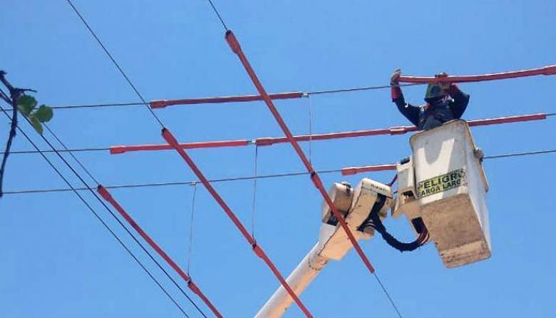 Circuitos Cable Cero, 20 de Julio y San Roque estarán sin luz este jueves