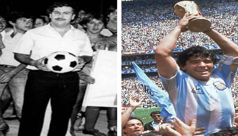 """""""Yo nunca conocí a Pablo Escobar y tampoco fui a la hacienda Nápoles"""": Maradona"""