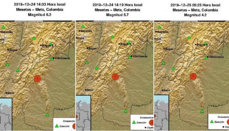 Se han registrado 110 réplicas tras sismo de 6,2 que sacudió varias zonas del país