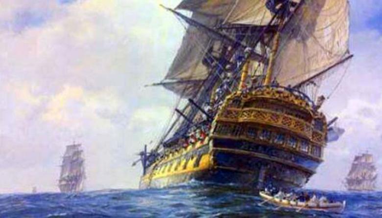 Ilustración del Galeón San José.
