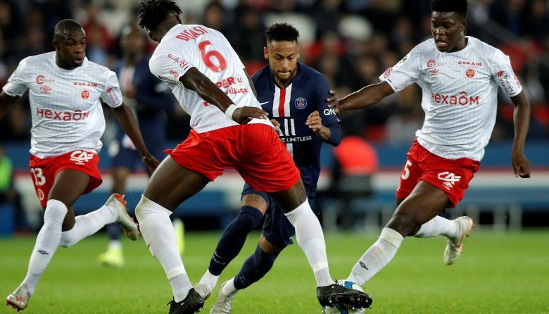 El PSG jugará con el Reims en semifinales de la Copa de la Liga
