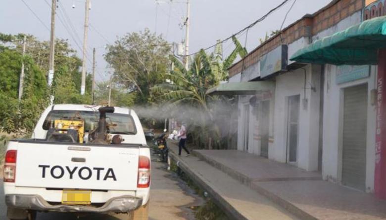 Córdoba emprende campaña de fumigación en contra del dengue
