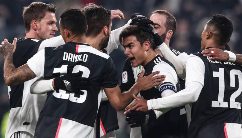 Juventus, Fiorentina y Milan avanzan a cuartos de Copa de Italia