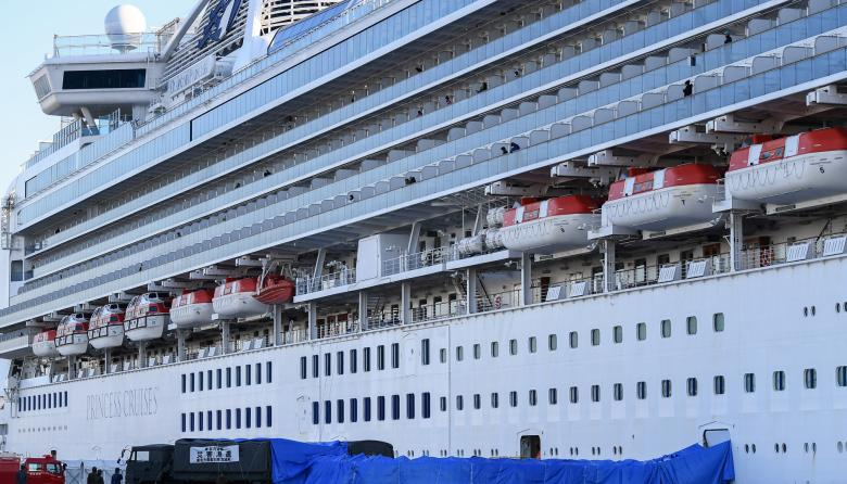 Anuncian 65 nuevas infecciones por coronavirus en el crucero en Japón