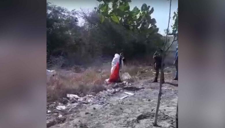 Hallan cráneo de mujer en zona enmontada de Caribe Verde