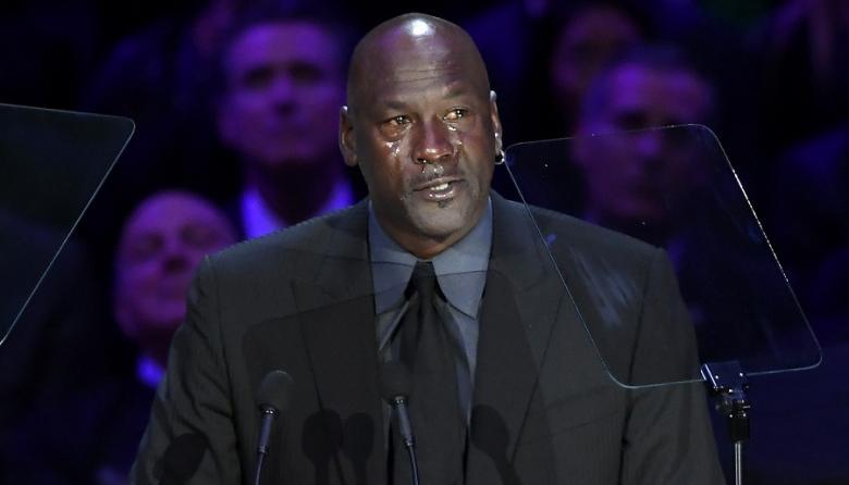"""""""Cuando Kobe murió, una parte de mí también"""", dice Jordan entre lágrimas"""