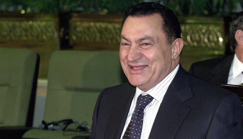 Hosni Mubarak, expresidente de Egipto.