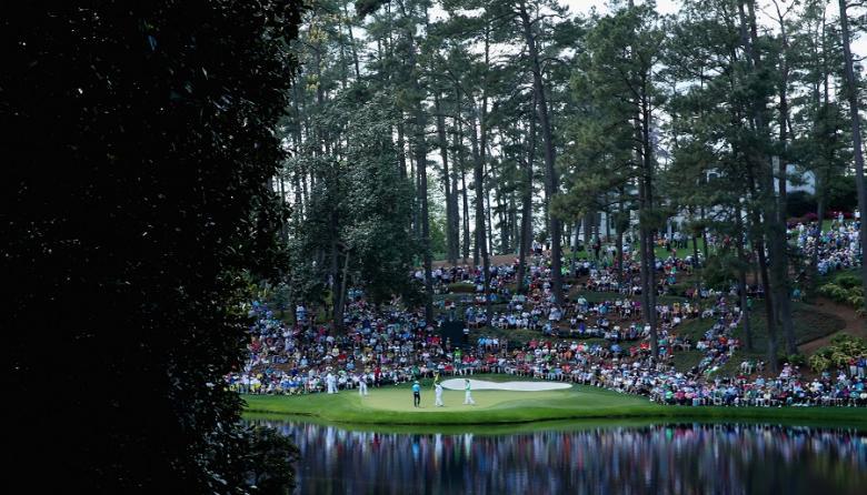 Panorámica del Masters de golf de Augusta en 2014.