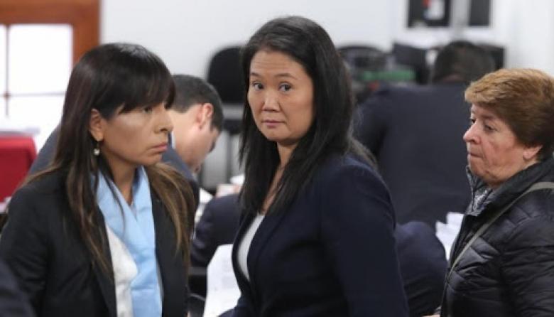 Justicia de Perú rechaza nuevo pedido de casación a favor de Keiko Fujimori