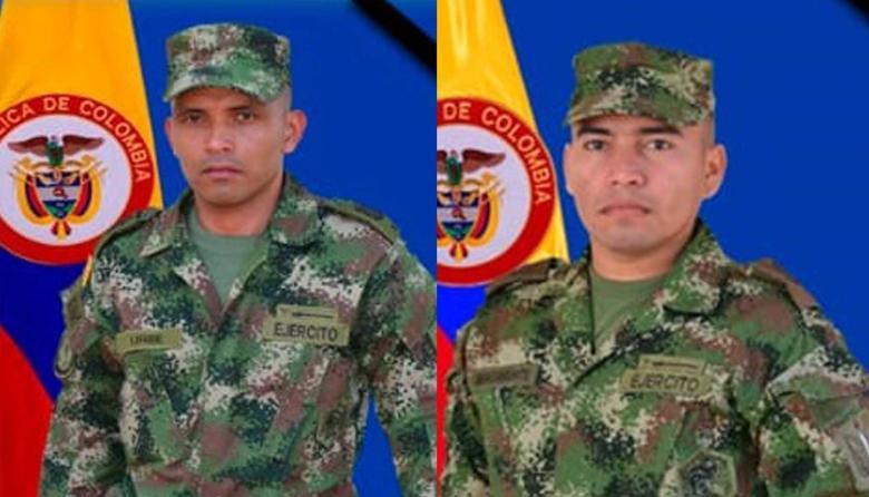 Óscar Hernando Uribe Parra y Manuel Bracamonte Pabuena.
