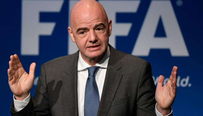 Gianni Vincenzo Infantino, presidente de la Fifa.