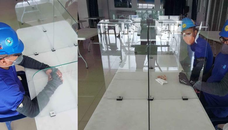Separadores de vidrio fabricados por Tecnoglass.