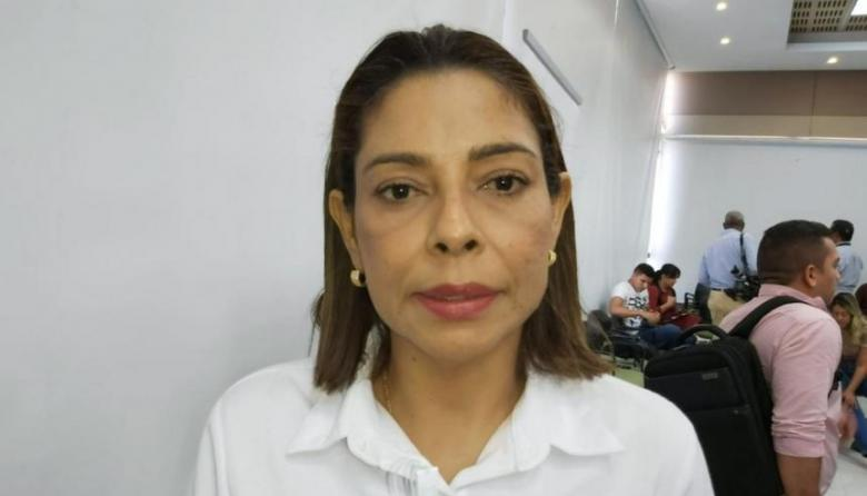 Marly Gutiérrez, alcaldesa de Luruaco.