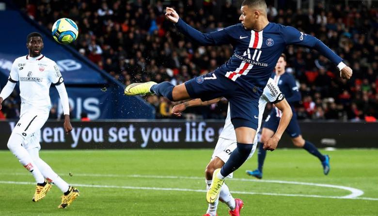 Kylian Mbappé, máximo goleador de la Liga francesa, temporada 2019-20
