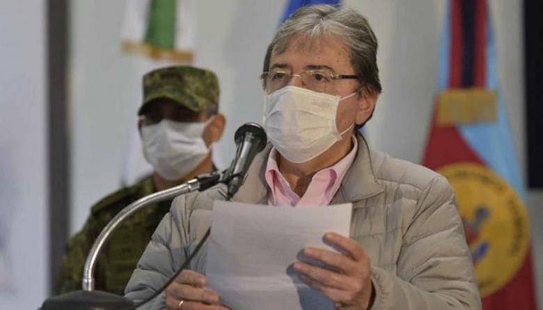 Carlos Holmes Trujillo, ministro de Defensa.