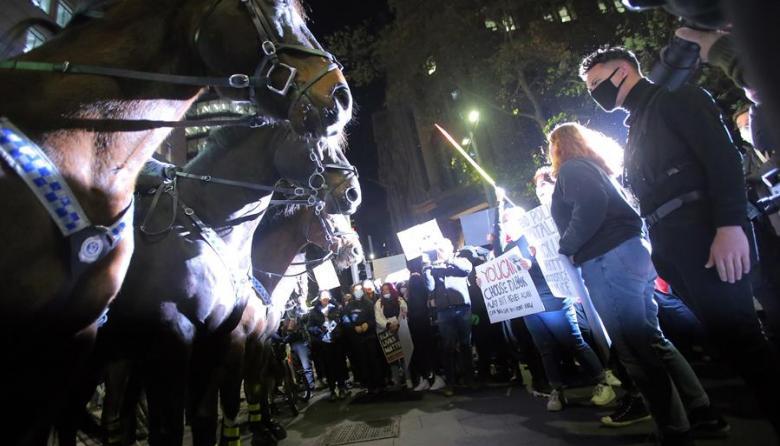 EEUU vivió noche de disturbios a una semana de la muerte de George Floyd