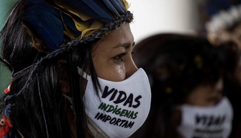 Indígenas de Brasil piden apoyo mundial contra minería ilegal y COVID-19