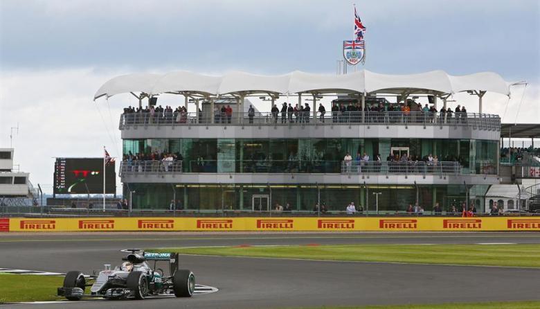 Circuito de Silvestone, en el Reino Unido.
