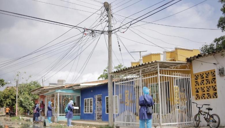 El Pozón y Olaya en Cartagena, el 'Wuhan' de la Costa