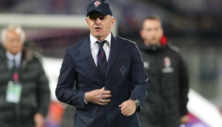 Giuseppe Iachini, técnico de la Fiorentina.