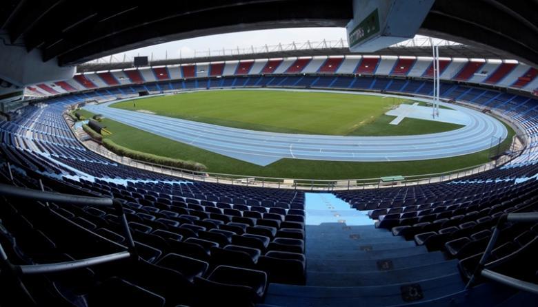 El estadio Metropolitano y todos los escenarios futboleros del país permanecen cerrados.