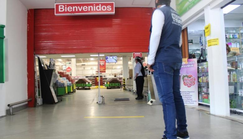 Tienda Makro en Villa Santos vuelve a operar este sábado