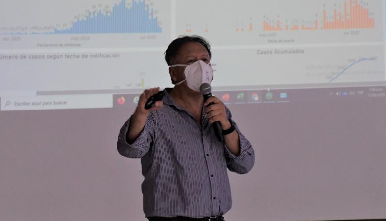 Luis Alexander Moscoso, viceministro de Salud.