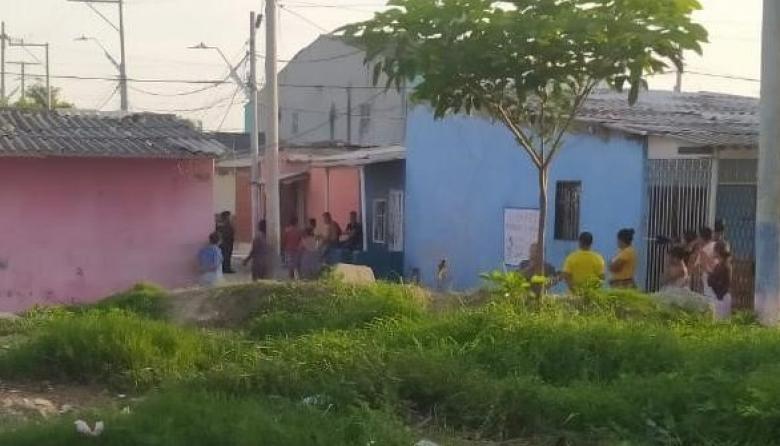 El homicidio ocurrió en el barrio La Chinita.