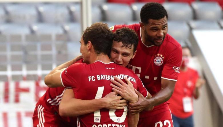Bayern Munich, cerca de celebrar un nuevo título en la Bundesliga alemana.