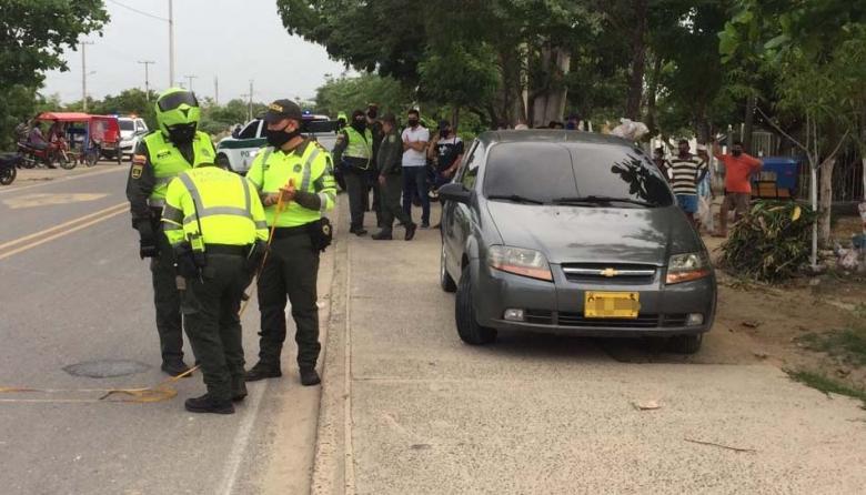 Vehículo atropella a niña de 13 años en la Oriental
