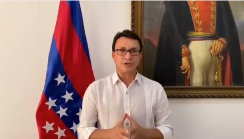 Carlos Caicedo, gobernador del Magdalena.