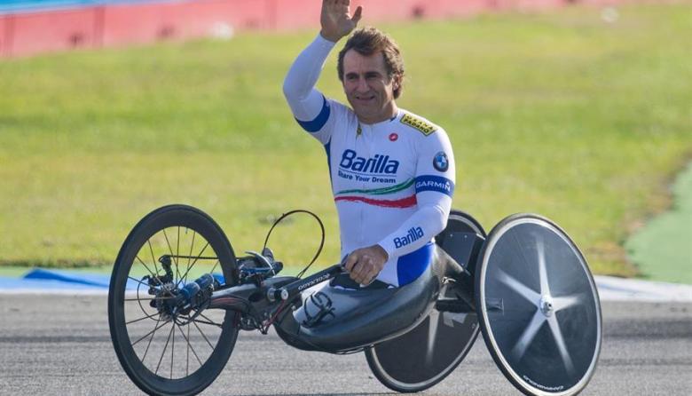 Zanardi se encuentra desde la tarde del viernes en el hospital Le Scotte de Siena.