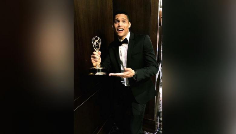 Periodista soledeño recibe premio Emmy de Boston y Nueva Inglaterra 2020