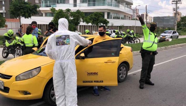 En cuarentena disminuyen delitos en área metropolitana de Barranquilla