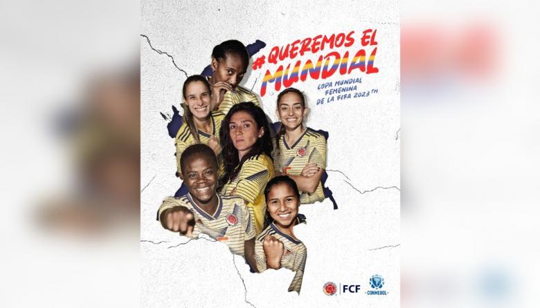 La FCF está impulsando en redes sociales la etiqueta #QueremosElMundial.