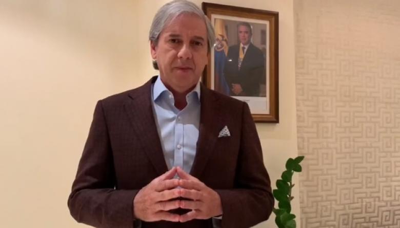 Jaime Amín, embajador de Colombia en Emiratos Árabes.
