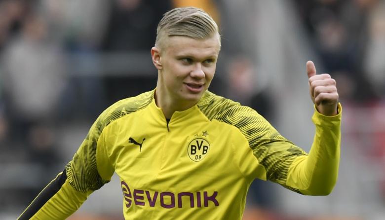"""""""Acabo de llegar al Dortmund, tengo un contrato y no pienso en irme"""": Haaland"""
