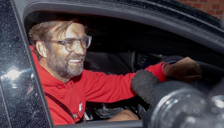 Jurgen Klopp, entrenador del Liverpool.