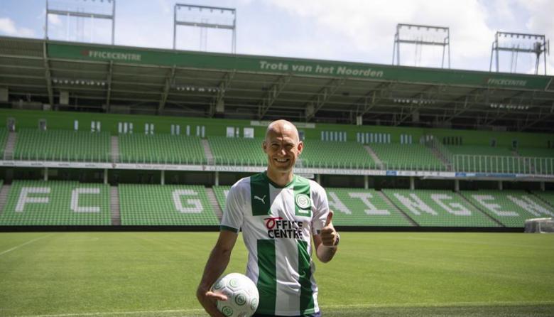 """Robben vuelve al fútbol: """"Lo hago por amor al Groningen"""""""