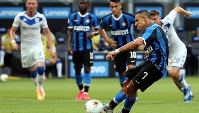 Alexis marca, da dos asistencias y coloca al Inter a ocho puntos del liderato
